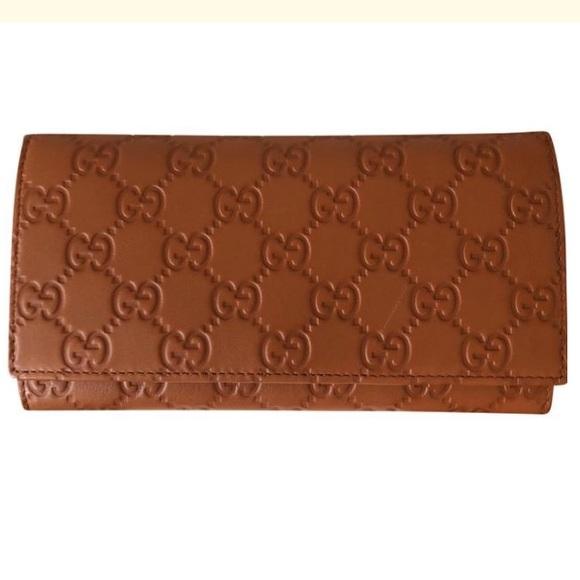 ab7296a5bf5f Gucci Bags | Vit Tender Gg Signature Continental Wallet | Poshmark